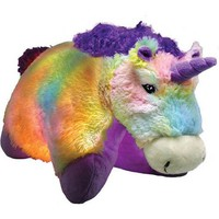 As Seen on TV Pillow Pet Glow Pets, Tiedye Unicorn - Walmart.com