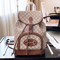 GG Gucci Marmont classic backpack Bronze Women Bag