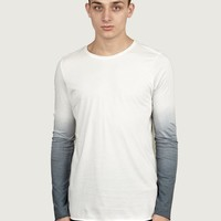 Thom Krom Men's Degrade Long-Sleeve T-Shirt