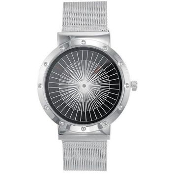 304  Stainless Steel Ultra Thin Time Piece