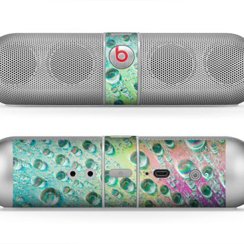 The RainBow WaterDrops Skin for the Beats by Dre Pill Bluetooth Speaker