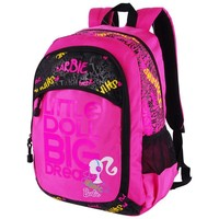 Barbie cartoon primary/middle/university school bag books shoulder casual backpack for girls women class/grade 3-6
