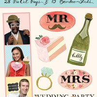 Wedding Party Photo Props (Accessory)