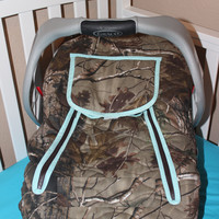 Camo Cozie Carrier Cover