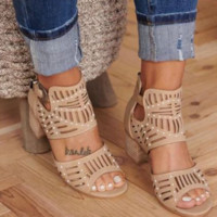 Hot style hot selling fish mouth hot drill open toe sandals