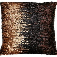 One Kings Lane - In the Details - Callie 18x18 Pillow, Gold Brown