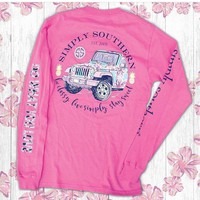 *Simply Southern LS Jeep Pink