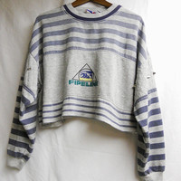 Vintage cropped Pipeline sweater by MeiLai on Etsy