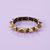 Totally Spiked Bangle in  What's New at Nasty Gal