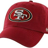 """SAN FRANCISCO 49ERS """"DAD HAT"""" - RED"""