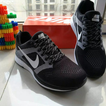 """""""Nike"""" Fashion Casual Male Female Breathable Comfortable Fly Weave Couple Sneakers Running Shoes"""