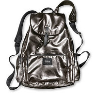 Faux Leather Backpack - PINK - Victoria's Secret