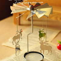 Korean Stationary Gifts Christmas Candle Stand [6283153350]