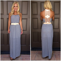 Stripe My Maxi Dress