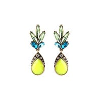 Yellow Tropicana Drops Earrings