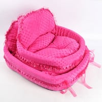 2014 new design bed for dog, dog bed lovely, princess bed for pets