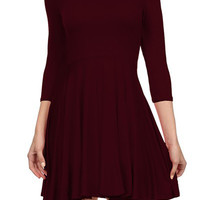Fit and Flare Skater Mini Dress