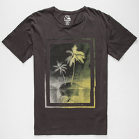 Quiksilver Skull Mens T-Shirt Black  In Sizes
