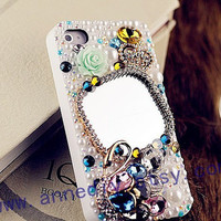 Samsung galaxy s3 casemirror iphone 5 case with by AnneDIY on Etsy