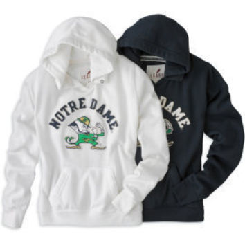 LEAGUE COLLEGIATE WEAR : F1239M University Hoody : Hammes Notre Dame Bookstore : www.nd.bkstr.com