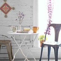 Plum & Bow Circle Bistro Table- White One