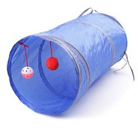 Cat Play Tunnel (Blue)