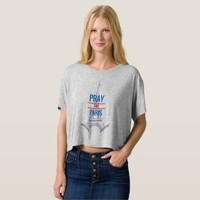 Pray for Paris Tee Shirts