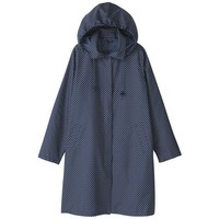 Women Polyester Raincoat - Dot