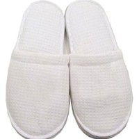 Cozy Women and Men Slippers Shoes SM White