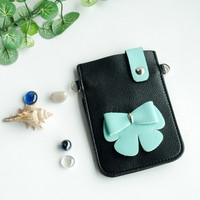 Leatherette Mobile Phone Pouch Cell Phone Case Clutch Pouch