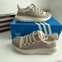 """""""Adidas"""" Unisex Sport Casual Fashion Flyknit Thick Bottom Sneakers Couple Running Shoes"""