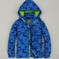 Children Outerwear Warm Child Coat Double-deck Waterproof Windproof Boys Girls Jackets Sporty Kids Clothes For 3-12 Years Old