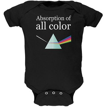 Halloween Science Absorption of Color Costume Costume Soft Baby One Piece
