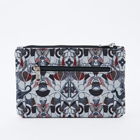 Kate Sheridan Waxed Pouch in Dragon Print - Urban Outfitters