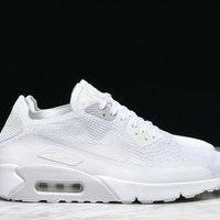 Best Sale AIR MAX 90 ULTRA 2.0 FLYKNIT - WHITE / PURE PLATINUM