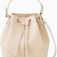 LUCLUC Beige Expandable Bags - LUCLUC