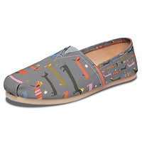 Dachshund Pals Casual Shoes
