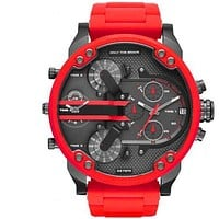 Diesel red trendy fashion watch new F-PS-XSDZBSH