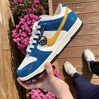 "Kasina x Nike SB Dunk Low ""Industrial Blue"" ""BUSAN"" low-top skateboard shoes"