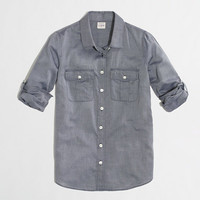 Factory camp shirt in end-on-end - washed shirts - FactoryWomen's Shirts & Tops - J.Crew Factory