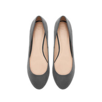 BALLERINA SHOES WITH METAL HEEL - TRF - NEW THIS WEEK | ZARA United States