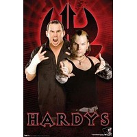 Hardys Poster - Wrestling Pose Wwe - Rare New Hot 24x36
