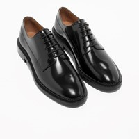 & Other Stories | Leather Oxfords | Black