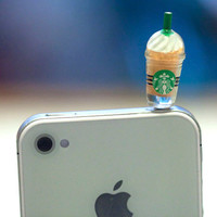 Kawaii STARBUCKS FRAPPE in 4 Colors to pick by fingerfooddelight