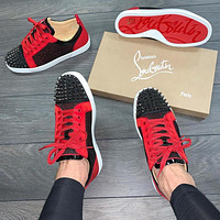 Christian Louboutin Red bottom nail casual shoes