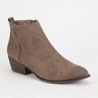 Madden Girl Hollywood Womens Boots Stone  In Sizes