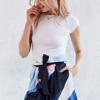 Finders Keepers Keep Cool Colorblock Short