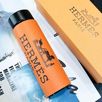 MCM & Hermes Fashion New More Letter Print Thermos Cup