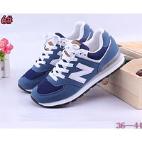 New Balance Fashionable Casual All-Match N Words Breathable Couple Sneakers Shoes 6#