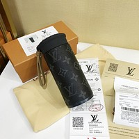 LV Fashion Stainless Steel Coffee Mugs Insulated Water Bottle Tumbler Thermos Cup Vacuum Flask Premium Travel Coffee Mug